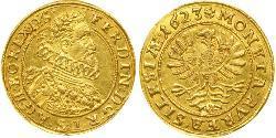 1 Ducat Heiliges Römisches Reich (962-1806) / Österreich Gold Ferdinand II. (HRR)(1578 -1637)