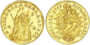 1 Ducat Hungary Gold Maria Theresa of Austria (1717 - 1780)