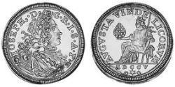 1 Ducat Imperial City of Augsburg (1276 - 1803) Gold Joseph I, Holy Roman Emperor (1678 -1711)