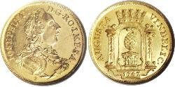 1 Ducat Imperial City of Augsburg (1276 - 1803) Gold Joseph II, Holy Roman Emperor  (1741 - 1790)