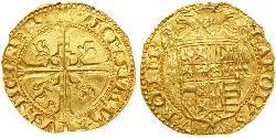 1 Ducat Italien Gold Karl V, Römisch-deutscher Kaiser (1500-1558)
