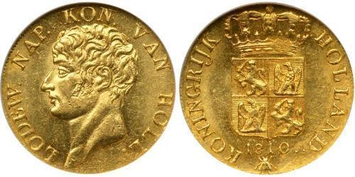 1 Ducat Königreich Holland (1806 - 1810) Gold