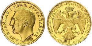 1 Ducat Königreich Jugoslawien (1918-1943) Gold Alexander I of Yugoslavia (1888 - 1934)