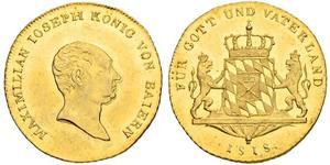 1 Ducat Kingdom of Bavaria (1806 - 1918) Gold