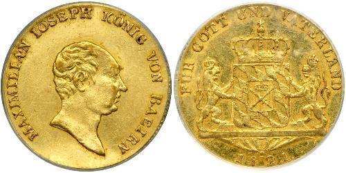 1 Ducat Kingdom of Bavaria (1806 - 1918) Gold Maximilian I Joseph of Bavaria (1756 - 1825)
