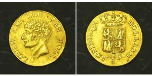 1 Ducat Kingdom of Holland (1806 - 1810) Gold
