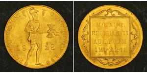 1 Ducat Kingdom of the Netherlands (1815 - ) Gold