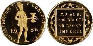 1 Ducat Kingdom of the Netherlands (1815 - ) Gold