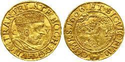 1 Ducat Principality of Transylvania (1571-1711) Gold Stephan Bocskai   (1557 - 1606)