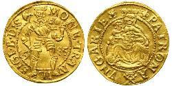 1 Ducat Principality of Transylvania (1571-1711) Gold Sigismund Báthory, von Siebenbürgen (1572 -1613)