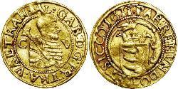 1 Ducat Principality of Transylvania (1571-1711) Gold Gabriel Báthory(1589 – 1613)