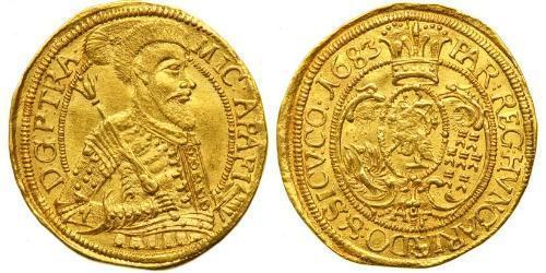 1 Ducat Principality of Transylvania (1571-1711) Gold Michael I. Apafi (1632 - 1690)