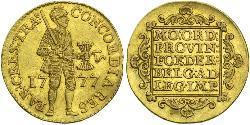 1 Ducat Republik der Sieben Vereinigten Provinzen (1581 - 1795) Gold