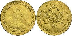 1 Ducat Russisches Reich (1720-1917) Gold Katharina II (1729-1796)