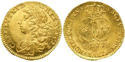 1 Ducat Schweden Gold Karl XI. von Schweden (1655-1697)