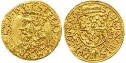 1 Ducat States of Germany Gold Albert V, Duke of Bavaria (1528 – 1579)