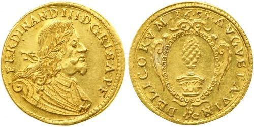 1 Ducat States of Germany Gold Ferdinand III, Holy Roman Emperor (1608-1657)