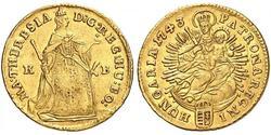 1 Ducat Ungarn Gold Maria Theresa of Austria (1717 - 1780)