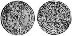 1 Ducat Fürstentum Ansbach (1398–1792) Kupfer Joachim Ernst (Brandenburg-Ansbach)(1583 – 1625)