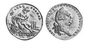 1 Ducat Électorat de Bavière (1623 - 1806) Or