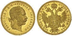 1 Ducat Autriche-Hongrie (1867-1918) Or Franz Joseph I (1830 - 1916)