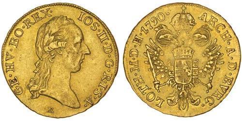 1 Ducat Habsburg Empire (1526-1804) Or Joseph II, Holy Roman Emperor  (1741 - 1790)