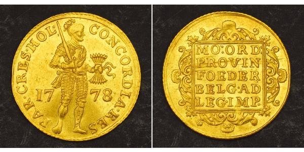 1 Ducat Provinces-Unies (1581 - 1795) Or