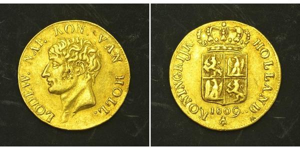 1 Ducat Royaume de Hollande (1806 - 1810) Or