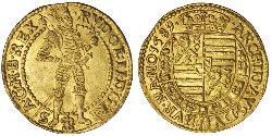 1 Ducat Austria Oro Rodolfo II (1552 - 1612)