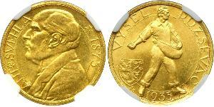 1 Ducat Cecoslovacchia  (1918-1992) Oro Antonin Svehla  (1873- 1933)