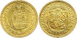 1 Ducat Checoslovaquia  (1918-1992) Oro