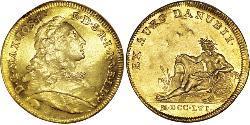 1 Ducat Electorate of Bavaria (1623 - 1806) Oro Maximiliano III José, Elector de Baviera(1727 – 1777)