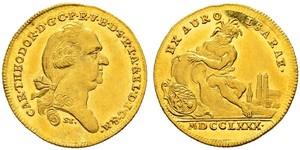 1 Ducat Electorate of Bavaria (1623 - 1806) Oro