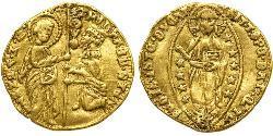 1 Ducat Estados Pontificios (752-1870) Oro