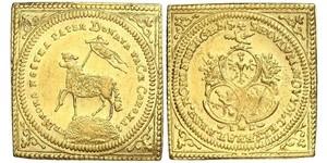 1 Ducat Free Imperial City of Nuremberg (1219 - 1806) Oro