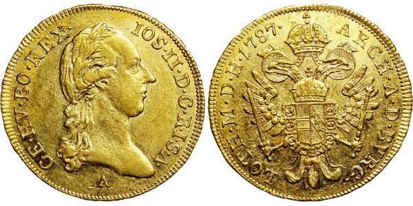 1 Ducat Habsburg Empire (1526-1804) Oro Joseph II, Holy Roman Emperor  (1741 - 1790)