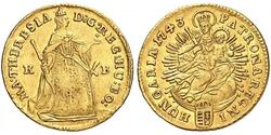 1 Ducat Hungría Oro Maria Theresa of Austria (1717 - 1780)
