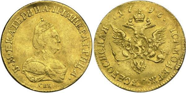 1 Ducat Imperio ruso (1720-1917) Oro Catalina II (1729-1796)