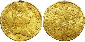 1 Ducat Monarchia asburgica (1526-1804) Oro Joseph II, Holy Roman Emperor  (1741 - 1790)