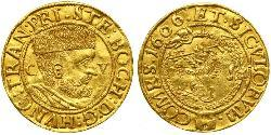 1 Ducat Principality of Transylvania (1571-1711) Oro Esteban Bocskai  (1557 - 1606)