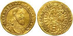 1 Ducat Principato di Transilvania (1571-1711) Oro Gabriele Bethlen (1580-1629)
