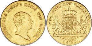 1 Ducat Reino de Baviera (1806 - 1918) Oro
