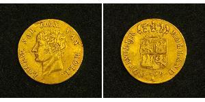 1 Ducat Reino de Holanda (1806 - 1810) Oro