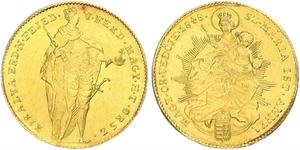 1 Ducat Reino de Hungría (1000-1918) Oro