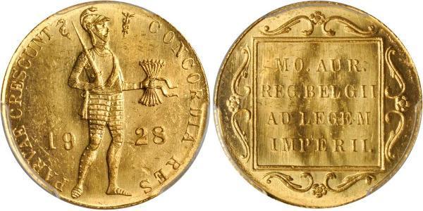 1 Ducat Reino de los Países Bajos (1815 - ) Oro