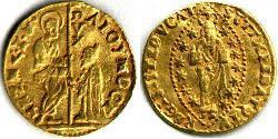 1 Ducat República de Venecia (697—1797) Oro