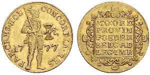 1 Ducat Repubblica delle Sette Province Unite (1581 - 1795) Oro