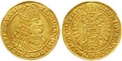 1 Ducat Austria / Sacro Imperio Romano (962-1806) Oro Ferdinand III, Holy Roman Emperor (1608-1657)