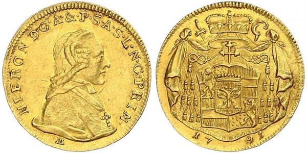1 Ducat Salisburgo Oro