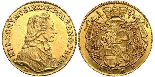 1 Ducat Salzburgo Oro